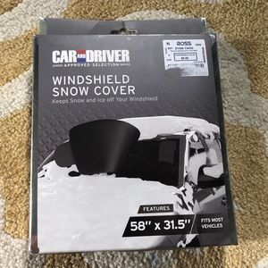 Snow Windshield Cover